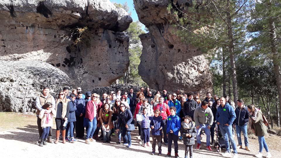 Excursión organizada a la ciudad Encantada de Cuenca