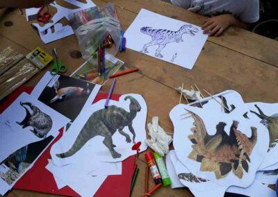 Taller de dinosaurios para niños